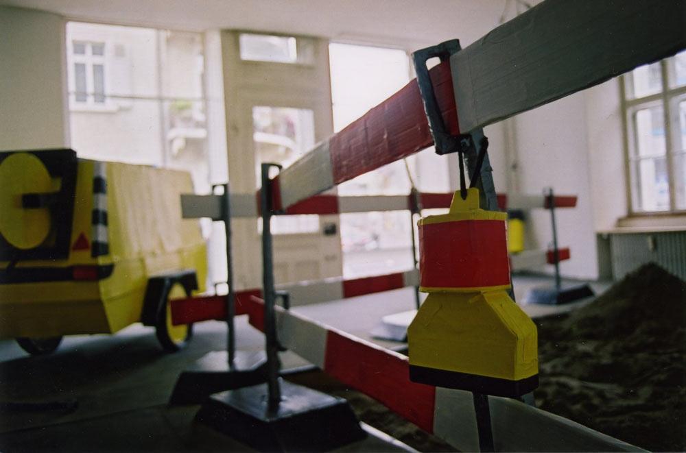 Lukas Bürgin, Baustelle