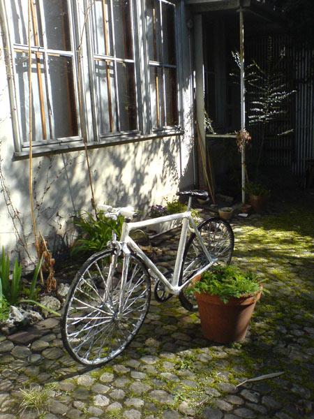 Fahrrad vom Künstler Lukas Bürgin