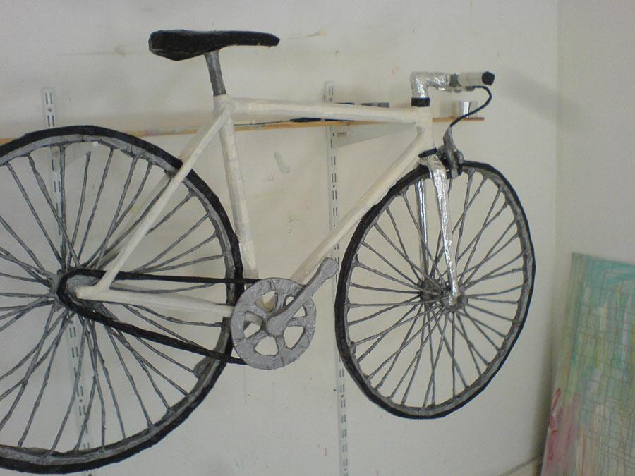 Fahrrad vom Kuenstler Lukas Bürgin