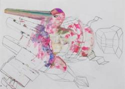 Kunst auf Papier Lukas Buergin